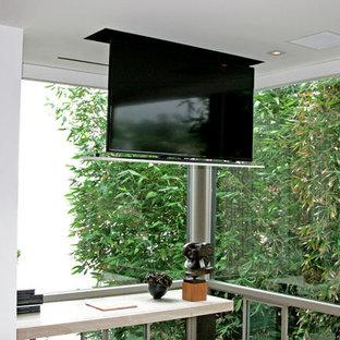 Inspiration pour un bureau minimaliste.
