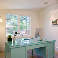 Transitional Home Office by FAB Architecture