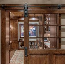 Rustic Home Office by Sarah Jones Design