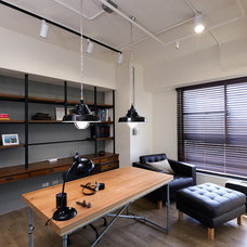 Contemporary Home Office by PMK+designers