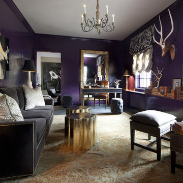 Lake Forest Showhouse - Parisian Library