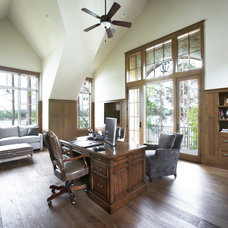 Traditional Home Office by Markalunas Architecture Group