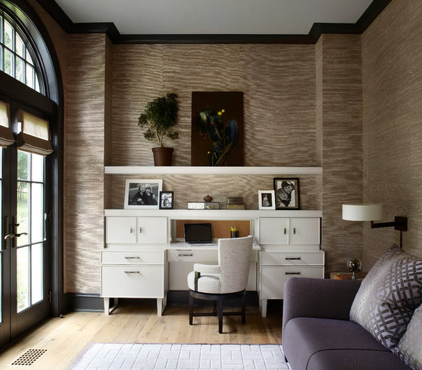 Contemporary Home Office by Morgante Wilson Architects