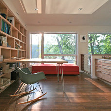 modern home office by Resolution: 4 Architecture