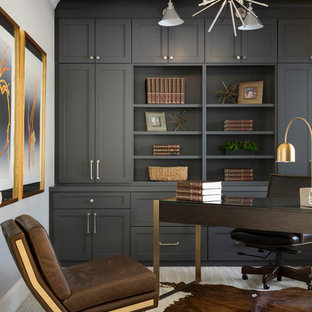 75 Most Popular Transitional Home Office Design Ideas For 2018