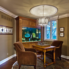 Traditional Home Office by Lola Watson Interior Design