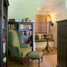 Traditional Home Office by Kathryn Long, ASID