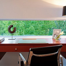 Modern Home Office by Chris Pardo Design - Elemental Architecture