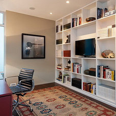 Modern Home Office by Chris Pardo Design - Elemental Architecture