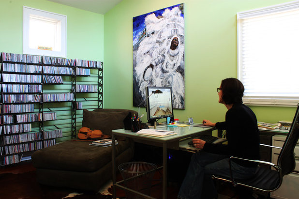 Eclectic Home Office by Adam Breaux