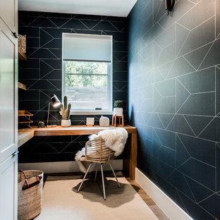 Inspiration For A Contemporary Home Office Remodel In Dallas