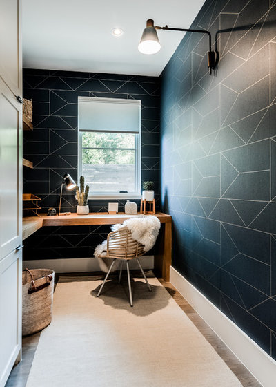 Contemporary Home Office by Urbanology Designs