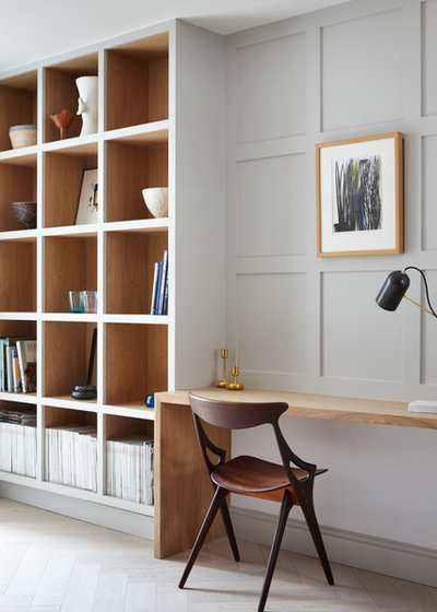 Home Office & Library by Fraher and Findlay