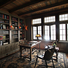 Traditional Home Office by The Belding Group, Inc