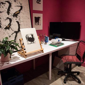 Lannan Project Office & Powder Room