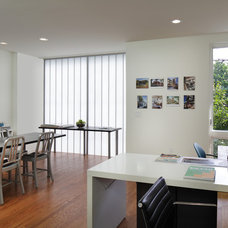 Modern Home Office by RKM Architects