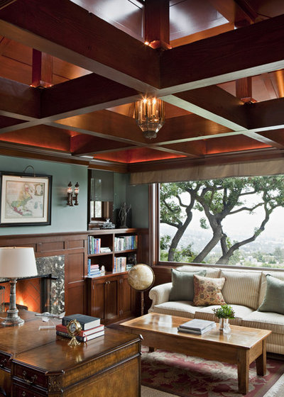 Traditional Home Office by Tim Barber Ltd Architecture