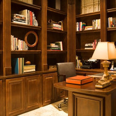 Traditional Home Office by Michael Fullen Design Group