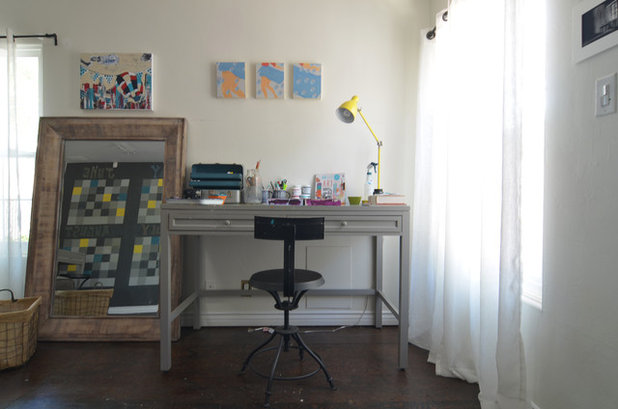 Inspirational Eclectic Home Office by Sarah Greenman