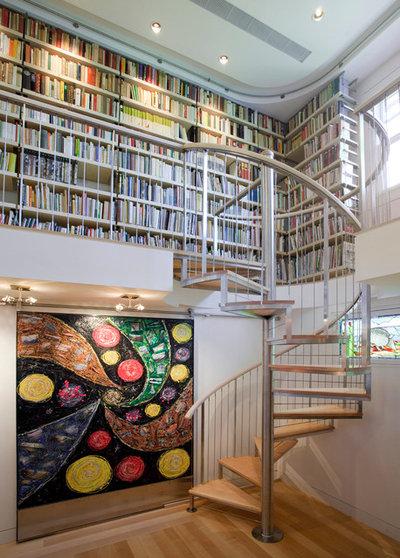 コンテンポラリー ホームオフィス・仕事部屋 by SV Design