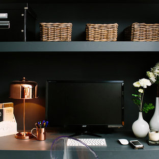 Example of a home office design in London