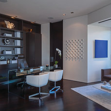Contemporary Home Office by Guerin Design + Development