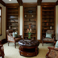 Traditional Home Office by Edinburgh Custom Homes, Inc.