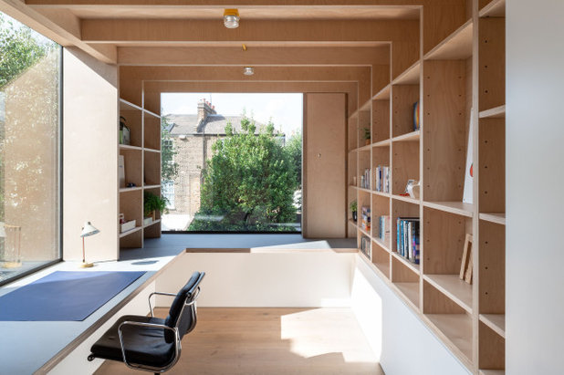 Contemporary Home Office by OEB Architects