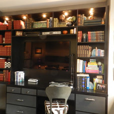 Contemporary Home Office by Frances Bailey