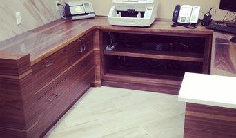 Lawyers  office reception desk