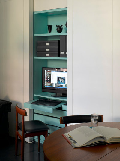 Contemporary Home Office by Openstudio Architects Ltd