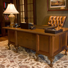 Traditional Home Office by Gunter Woodworking, Inc
