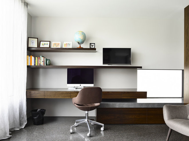 Modern Home Office by Steve Domoney Architecture