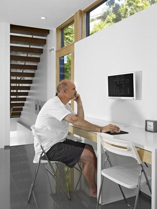 Hidden Computer Screen Design Ideas & Remodel Pictures | Houzz