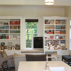 Traditional Home Office by Mitchel Berman Cabinetmakers Inc.