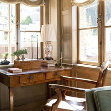 Traditional Home Office by Heather Hilliard Design