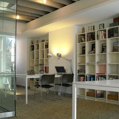modern home office by AJArchitects, pllc
