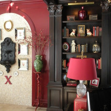 Traditional Home Office by Anthony Como of Luxe Interiors