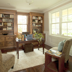 traditional home office by Arch Studio, Inc.