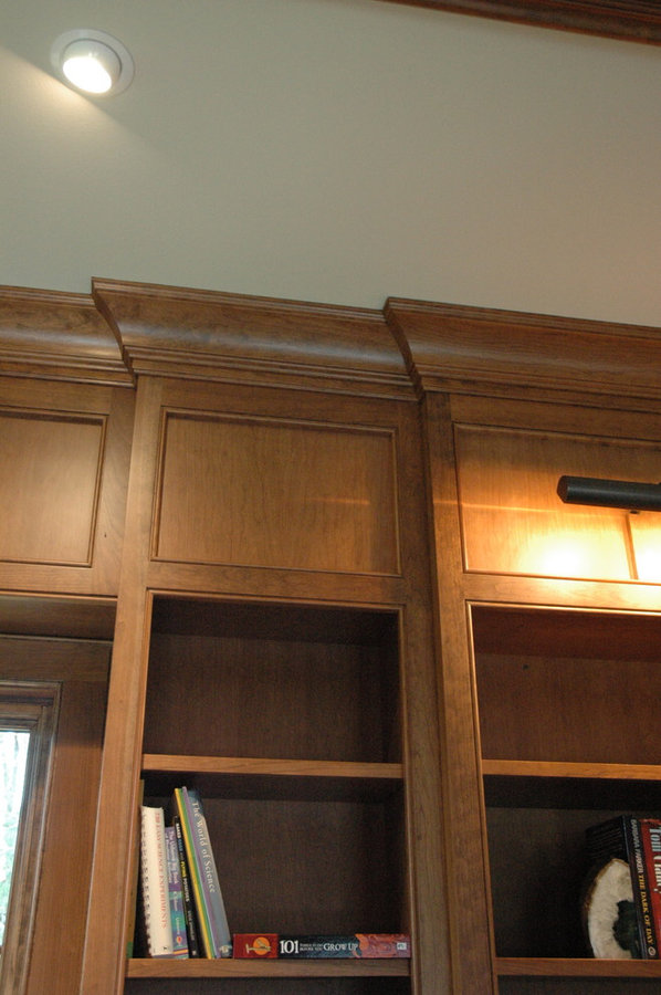 Library bead panel molding