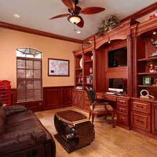 Traditional Home Office by LS Interiors Group, Inc.