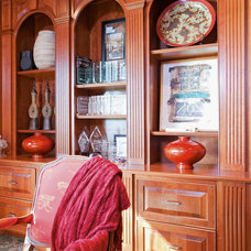 Traditional Home Office by Designing the Senses with Cindy Montgomery