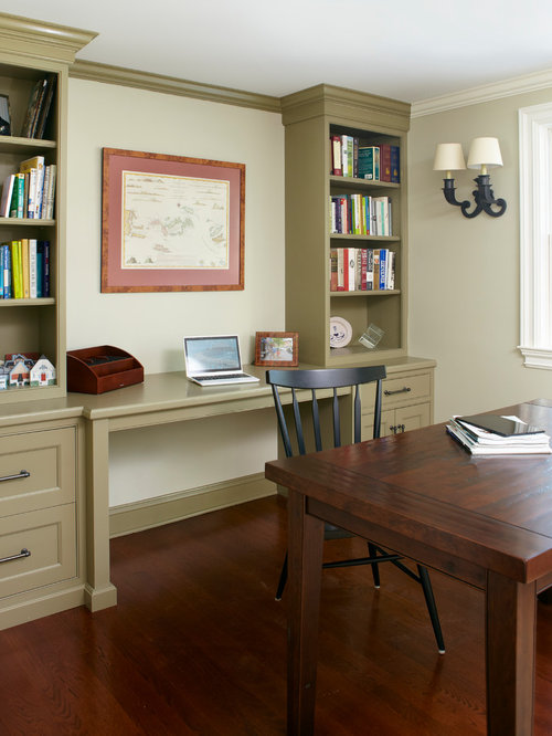 Library Home Office Renovation. Home Office Library Furniture ...