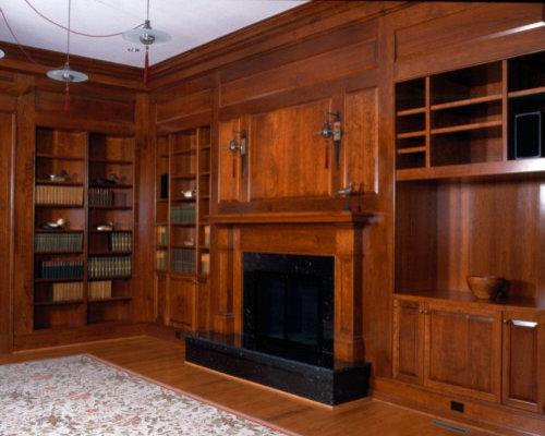how to build a home library