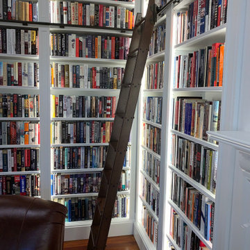 Library Ladder Adds Classic Detail