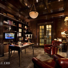 Traditional Home Office by Marshall Morgan Erb Design Inc.
