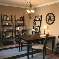 Traditional Home Office by Lisa LaPorta HGTV