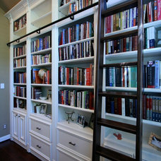 Traditional Home Office by Sneller Custom Homes and Remodeling, LLC