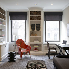 Contemporary Home Office by Stephens Design Group