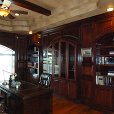 Traditional Home Office by Celtic Custom Homes